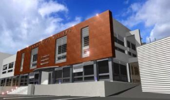Amphitheatre gymnase